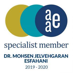 Dr Mohsen Esfahani Specialist in Endodontics