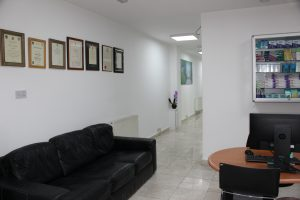 pearl dental clinic interior