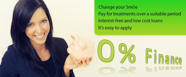 0% Dental Finance for up to 3 years