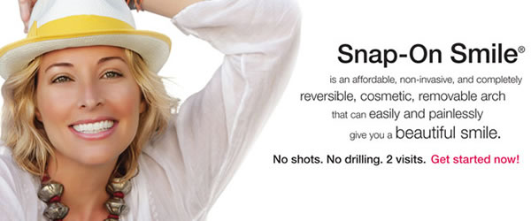 Find out more about Snap-On Smile