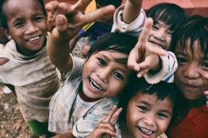 Charities have joined together to help Filipino children
