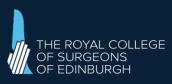 Member of Royal College of Surgeons of Edinburgh