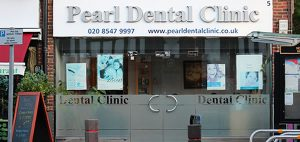 pearl dental clinic exterior